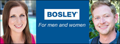 Bosley for men and women